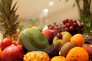 Exotic Fruits Stock Images - Image: 14917534