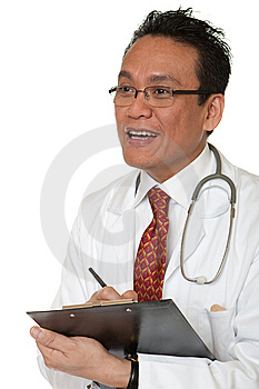 Friendly Doctor Stock Photo - Image: 14918310