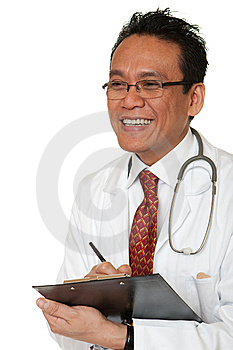 Friendly Doctor Stock Image - Image: 14918311