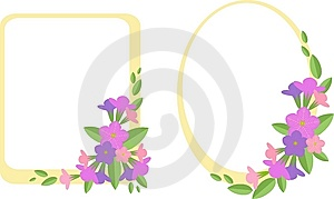 First  Flowers Royalty Free Stock Image - Image: 14919476