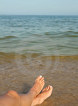 Peace On The Beach. Stock Photography - Image: 14919762