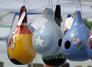 Painted Gourds Royalty Free Stock Images - Image: 14920769