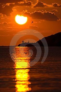 The Sunset Stock Photo - Image: 14921020