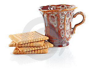 Tea And Cookies Royalty Free Stock Images - Image: 14922229