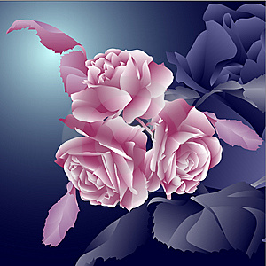 Floral Invitation For Life Events Stock Image - Image: 14922951