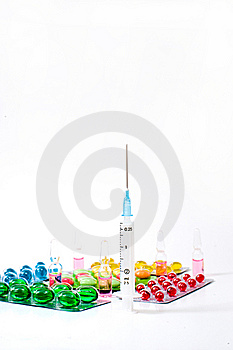 Various Pills Royalty Free Stock Photography - Image: 14923457