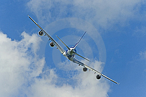 Plane's Back Royalty Free Stock Photos - Image: 14925378