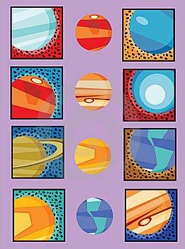 Universe Planets Royalty Free Stock Image - Image: 14926706