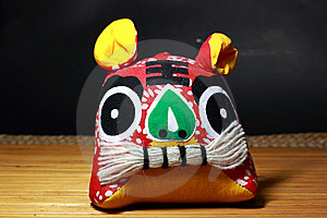 Chinese Cloth Tiger Stock Images - Image: 14929854