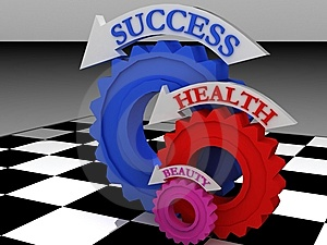 Health-gears Royalty Free Stock Image - Image: 14930426