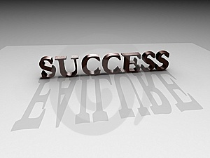 Success-failure Royalty Free Stock Photography - Image: 14930437