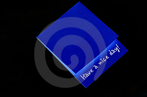 Thank You Note Royalty Free Stock Image - Image: 14931916