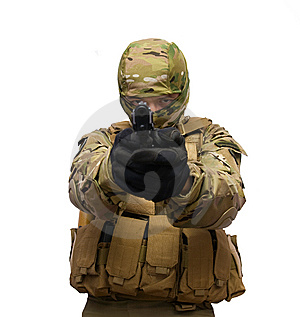 Commando Royalty Free Stock Images - Image: 14932249