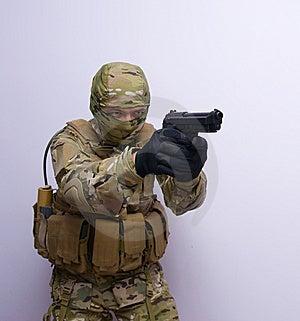 Commando Royalty Free Stock Photos - Image: 14932268