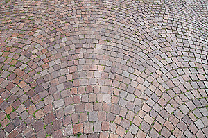 Old Street Coated Paving Stone Royalty Free Stock Photos - Image: 14933748
