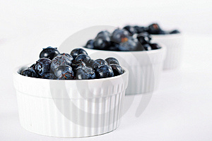 Fresh Blueberries In A Row Royalty Free Stock Image - Image: 14935106