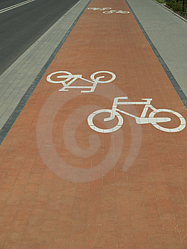 Cycle-Track Stock Photography - Image: 14937422