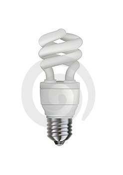 Energy Saving Bulb Stock Photography - Image: 14938572