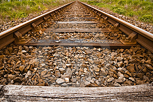 Old Train Track Stock Photography - Image: 14940762