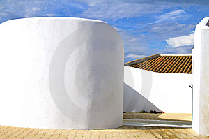 White Walls Royalty Free Stock Photo - Image: 14941875
