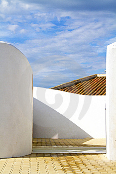 White Walls Royalty Free Stock Photos - Image: 14942218