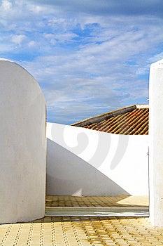White Walls Royalty Free Stock Photos - Image: 14942218