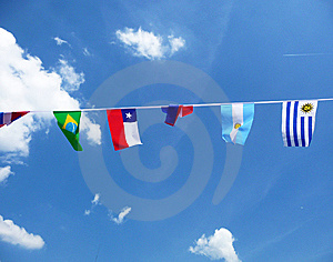 Various National Flags Royalty Free Stock Images - Image: 14942629