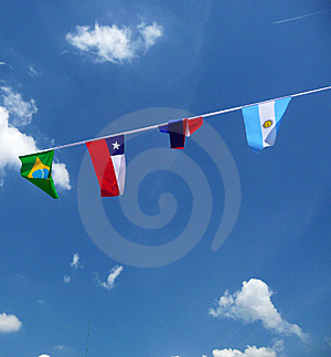 Various National Flags Stock Photography - Image: 14942632