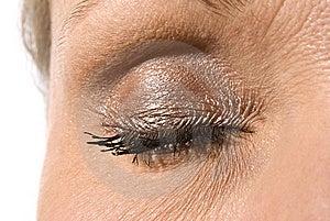 Beautiful Female Eye Royalty Free Stock Photo - Image: 14943595