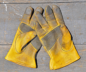 Workman's Gloves Stock Photo - Image: 14943990