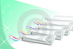 Tooth-paste Royalty Free Stock Images - Image: 14944619