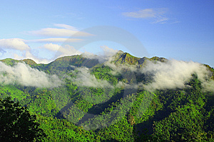 Mountain View, Thailand Royalty Free Stock Image - Image: 14945746