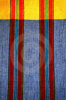 Loincloth Pattern Of Thailand Royalty Free Stock Photography - Image: 14948677