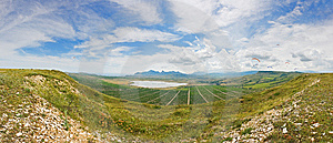 Panoramic View Of Koktebel Royalty Free Stock Photos - Image: 14949378