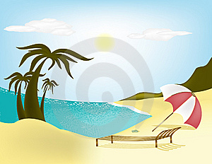 Beach Royalty Free Stock Images - Image: 14950209