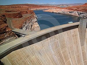 Glen Canyon Dam Near Lake Powell Royalty Free Stock Photo - Image: 14950295