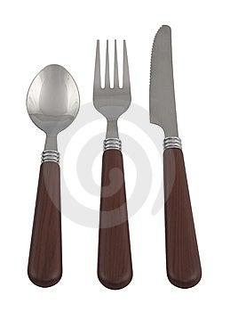 Utensil Fork, Spoon, Knife Stock Image - Image: 14950451
