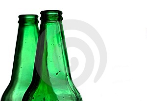 Two Bottles Stock Photos - Image: 14950893