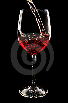 Red Wine Being Poured Royalty Free Stock Photography - Image: 14952027