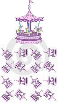 Carousel Pattern Royalty Free Stock Image - Image: 14952276