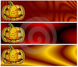 Halloween Banners Or Headers Stock Photos - Image: 14953823