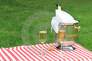 Champagne For Two Royalty Free Stock Photo - Image: 14955565