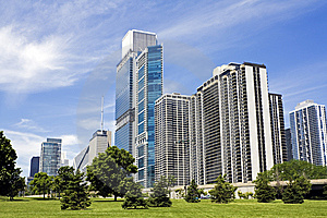 Amazing Day In Chicago Royalty Free Stock Photo - Image: 14955715