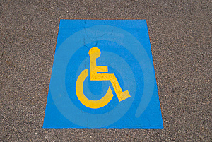 Handicap Symbol Royalty Free Stock Images - Image: 14955719
