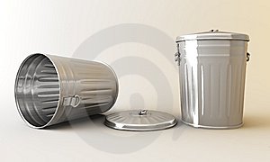 Garbage Can. Royalty Free Stock Photo - Image: 14955925