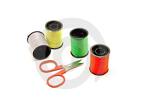 Sewing Kit Royalty Free Stock Images - Image: 14955939
