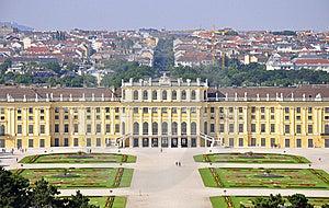 Scheonbrunn Castle, Vienna Royalty Free Stock Photo - Image: 14956705