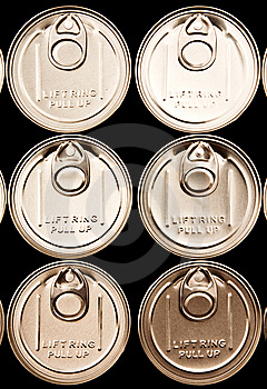 Lid Of Can Royalty Free Stock Images - Image: 14957429