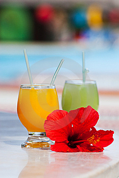 Tropical Cocktails Royalty Free Stock Photography - Image: 14957647