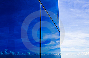 Blue Sky And Office Building Stock Image - Image: 14957981